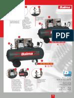 Balma Air Compressor 270lt - 4 Hp (1)