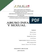 abuso infantil y sexual