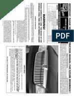 03 04 Lincoln Navigator Grille Installation Manual Carid