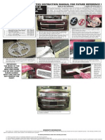 04 07 Scion Xb Grille Installation Manual Carid