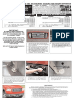 06 08 Ford f150 7pc Grille Installation Manual Carid