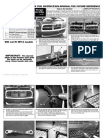 06 Dodge Charger Grille Installation Manual Carid