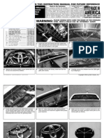 06 Up Toyota 4runner Grille Installation Manual Carid