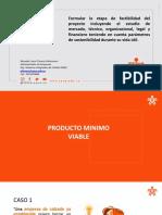 PRESENTACION  PRODUCTO MINIMO VIABLE-PMV-