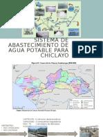SISTEMA DE ABASTECIMIENTO DE AGUA POTABLE PARA CHICLAYO