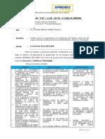 Plan remoto e informe de la semana 1,2,3 y 4