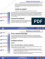 Network Printer Setup