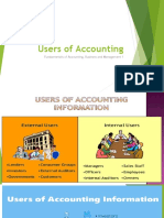 Users of Accounting