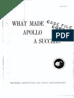 What Made Apollo a Success