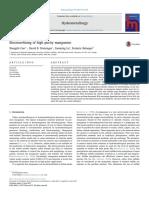 2017 Cao -- Electrorefining of high purity manganese