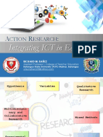 Action Research Integrating ICT in Education