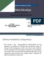 defensa bioquimica