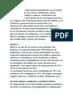 sociedad mexicana resumen