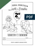 MATERIAL DIDÁCTICO 3er TRIMESTRE 2°