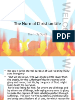 The Normal Christian Life Holy Spirit