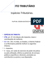 Espécies Tributárias.ppt