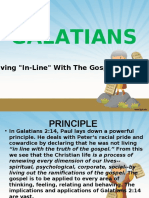 Galatians for You - Living the Gospel