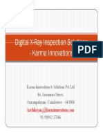 Digital X-Ray Solutions from Karma Innovations