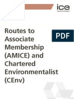 ICE 3003A Route to Associate Membership