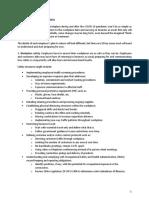COVID-19 Back to Work Checklist 2