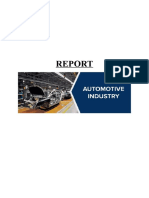 Automobile Industry Report-2019