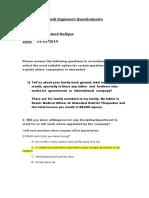 Questionnaire-CNLC