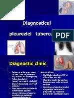 Diagnosticul pleureziilor tuberculoase