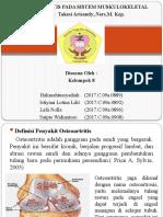 PPT OSTEOARTHRITIS KEL 8.pptx