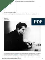 Crítica de 'Hannadh Arendt y la literatura'_ La narración que somos _ Babelia _ EL PAÍS