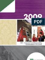 CSR Report 2009 - FamiljeBostader (English)