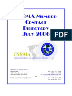 CSRMA Contact Directory - July 06