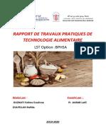 RAPPORT DE TRAVAUX PRATIQUES DE TECHNOLOGIE ALIMENTAIRE.docx
