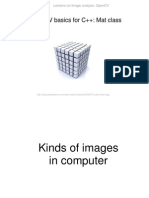 OpenCV Lections