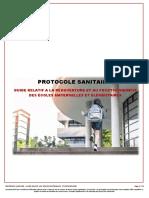 Covid19 Protocole Sanitaire Pour La r Ouverture Des Coles 67182