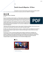 Biden Denies Tara Reade's Assault Allegation- 'It Never Happened' - The New York Times-1may2020