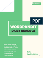 Daily Reads-25