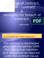 Chap10-12 Discharge of contract,