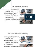 5 carpet pasting machine