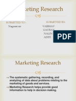Market Ting Research Ppt