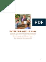 ENTRETIEN AVEC LE JURY ENA