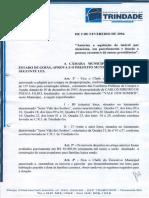 LEI Nº 1.064 - AUTORIZA A AQUISIÇÃO DO IMÓVEL QUE MENCIONA, SEU PARCELAMENTO E A DOAÇÃO A PESSOAS CARENTES E DÁ OUTRAS PROVIDÊNCIAS.pdf