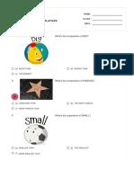 COMPARATIVES & SUPERLATIVES   Print - Quizizz
