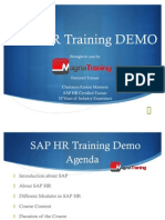 Sap Hr Training Demo