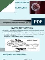 Techniques of in Vitro Fertilization in Domestic Animals