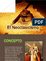 DIAPOSITIVAS NEOCLASICISMO