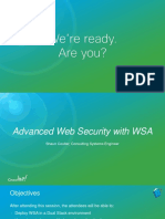Advanced Web Security with WSA BRKSEC-3772