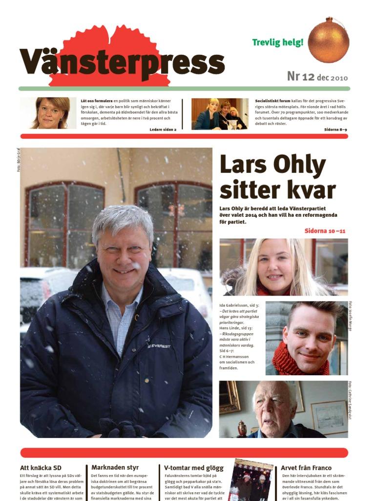 Lars ohly vill att skolorna slapper in politiker