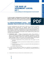 le developpement local inclusif