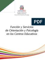 Servicios de Orientacion y Psicologia Primera versión