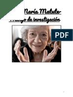 Ana María Matute - Trabajo de Investigacion